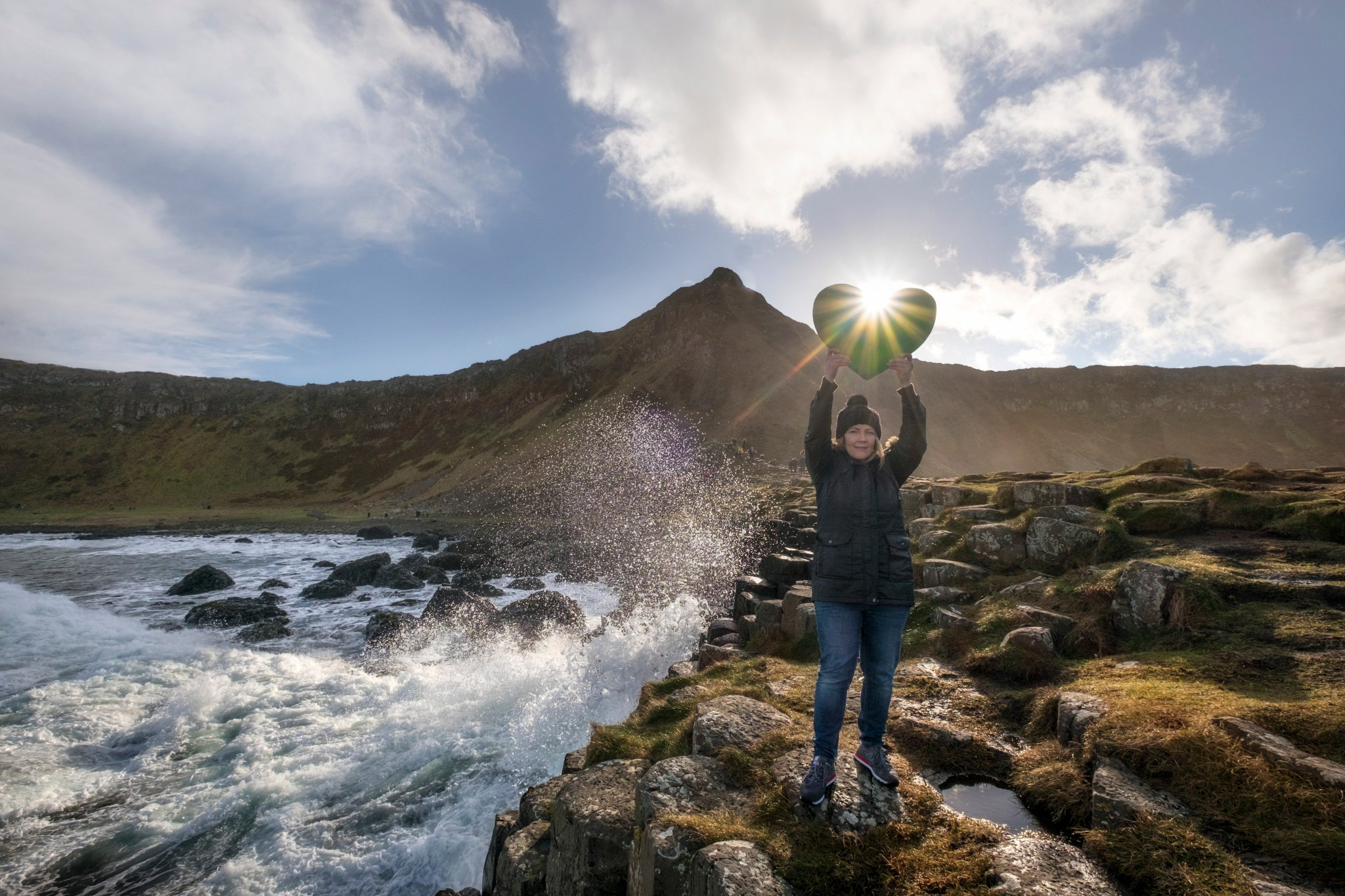 We want to protect the #GiantsCauseway from #climatechange. What would you like to #showthelove for this #valentines? https://t.co/INELpbEKEj