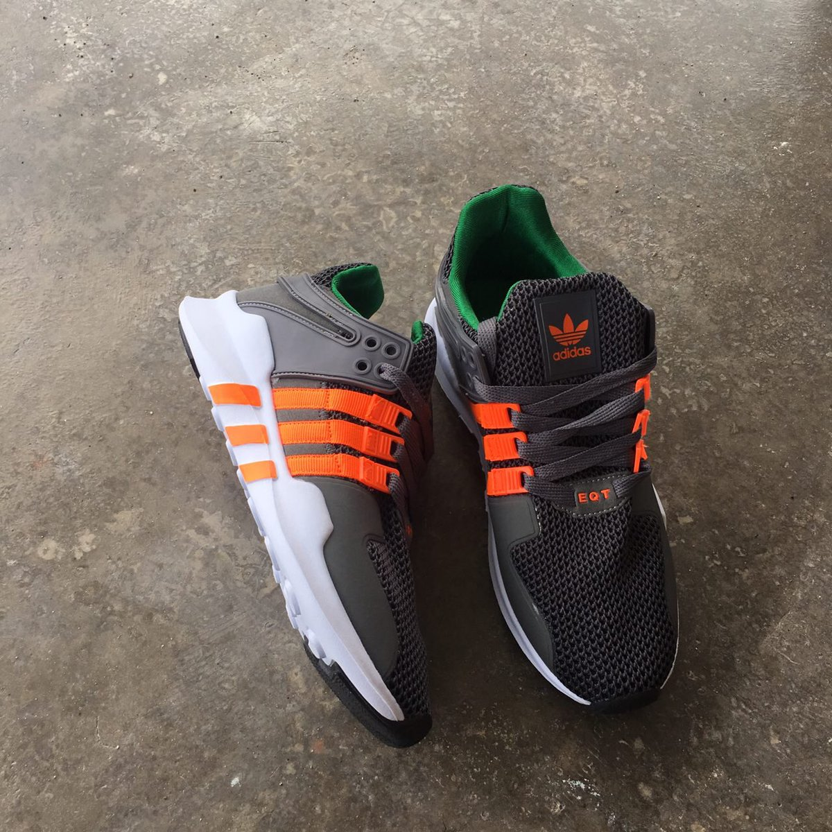 23da96f58016bb Adidas EQT Grey Orange Size  - 41-45 Euro Harga Offer  - RM 90 Only SM (inc  postage) RM 95 Only SS (inc postage) WhatsApp   0111-621  8182pic.twitter.com  ...