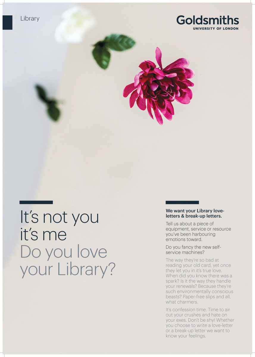 Goldsmiths Library on Twitter: