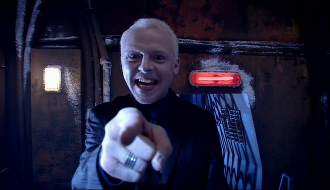 Happy Birthday to Simon Pegg who played The Editor in The Long Game.