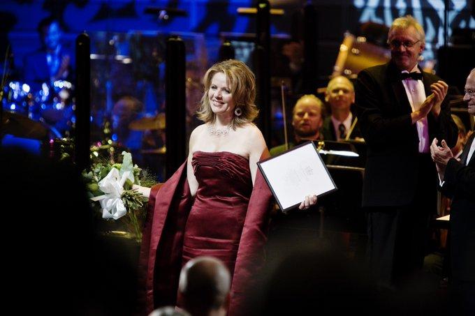 Happy birthday Renée Fleming, Laureate of 2008!