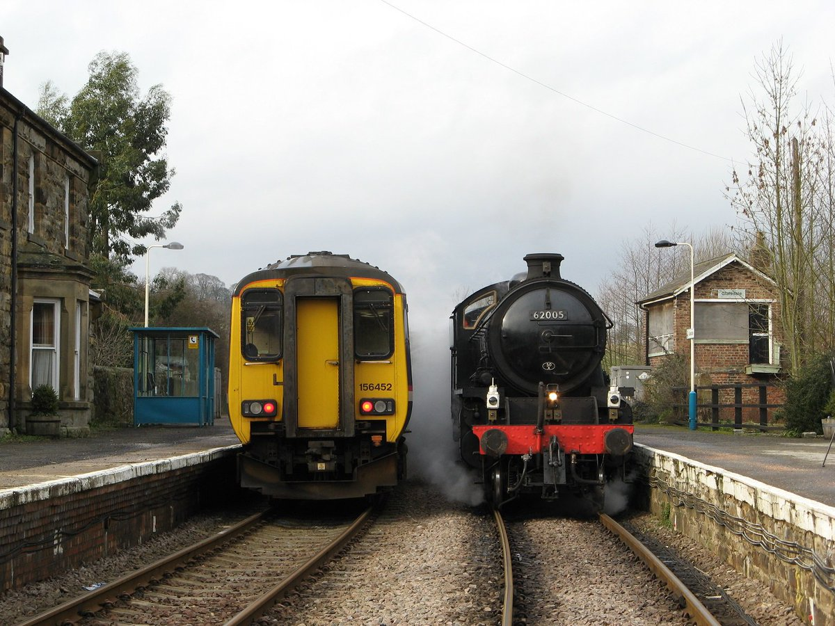 We of course have been running scheduled steam services on the national network for ten years now... #JustSaying https://t.co/EHC96TJ99K