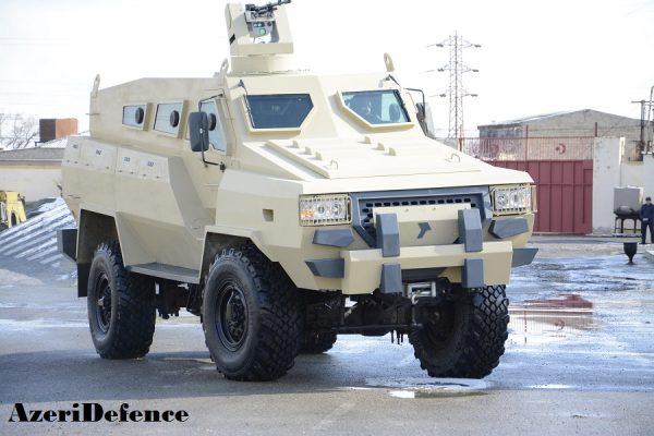 Azerbaijan Unveils New Tufan Mine Resistant vehicle