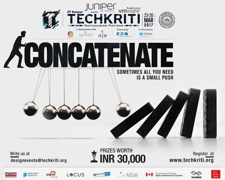 Image result for techkriti 2018 concatenate