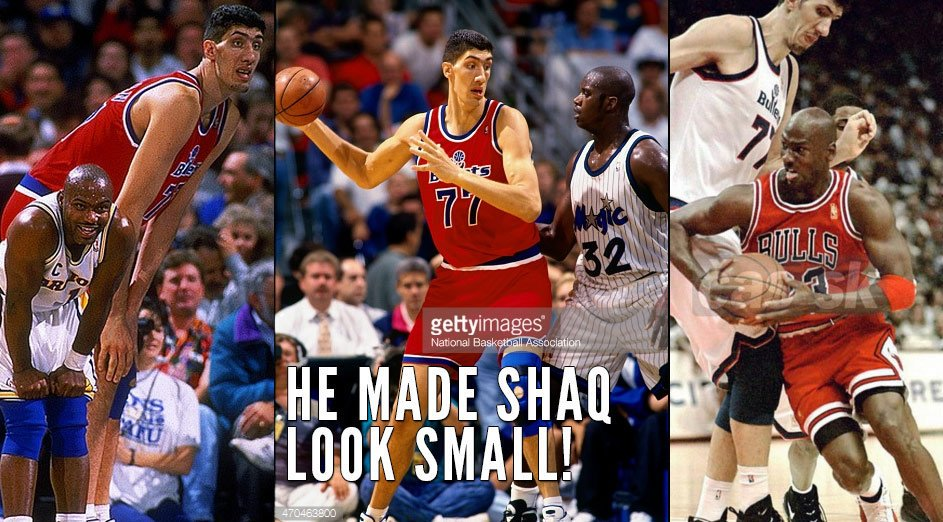 "Happy Birthday to the 1996 Most Improved Player, 7\7 Gheorghe ""My Giant\"" Muresan 