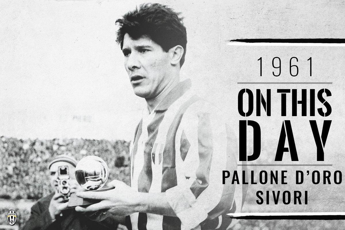 Il calciatore argentino Omar Sivori, pallone d'oro nel 1961