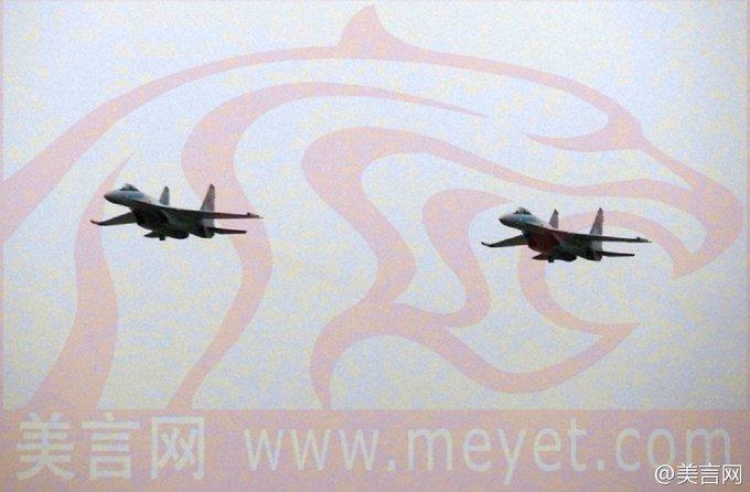 الصين ستتسلم الدفعة الأولى من مقاتلات Sukhoi-35 قبل حلول 25 ديسمبر الجاري وتشمل 4 مقاتلات C4oB_NHVUAMuEGJ