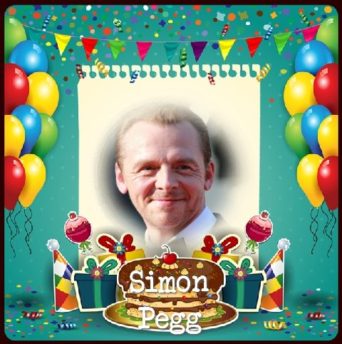 Happy Birthday Simon Pegg, Rhydian Roberts, Darren Purse, Chris Lewis & Kevin Keegan