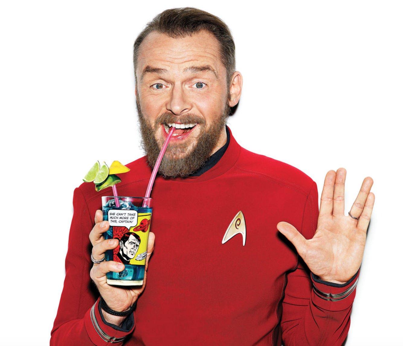 Happy Birthday to Simon Pegg ( )!