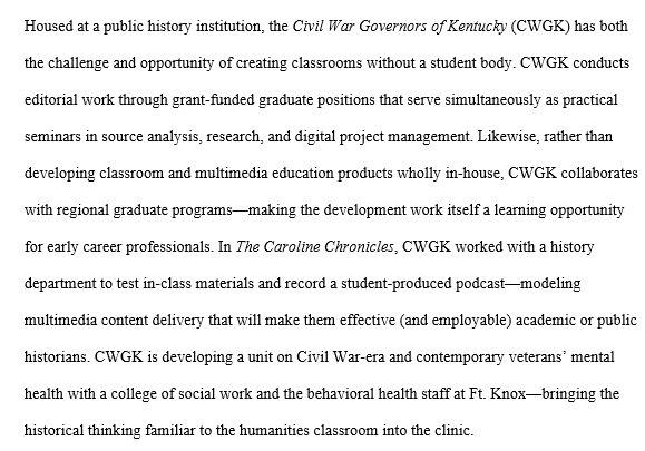 First up in office, @AHAhistorians 18 proposal on multi-layered teaching (teaching teachers via ed product development) w #CWGK primary docs https://t.co/Tr2dGBp0uc