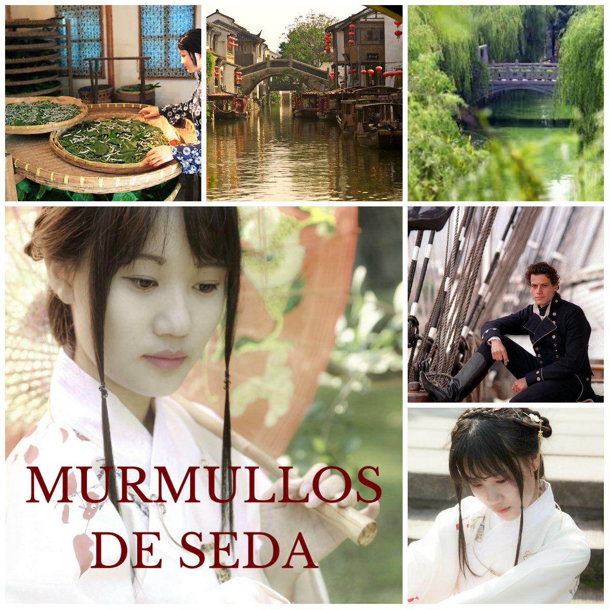#Novedad. MURMULLOS DE SEDA China, S.XIX, tradiciones y guerra. #romance @isabellaabad1   http:// buff.ly/2lLrHfi  &nbsp;  <br>http://pic.twitter.com/BPza6U7fau