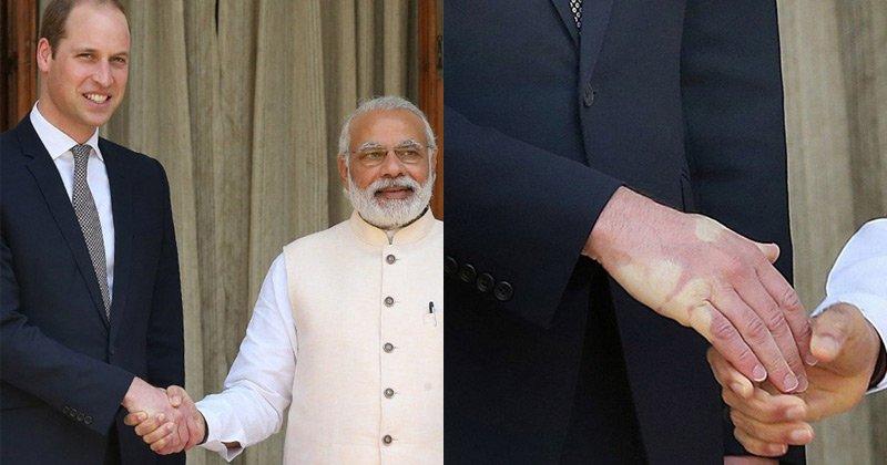 Un saludo al Primer Ministro de la India. REY DE LOS APRETONES DE MANOS https://t.co/a5CZlXsriE