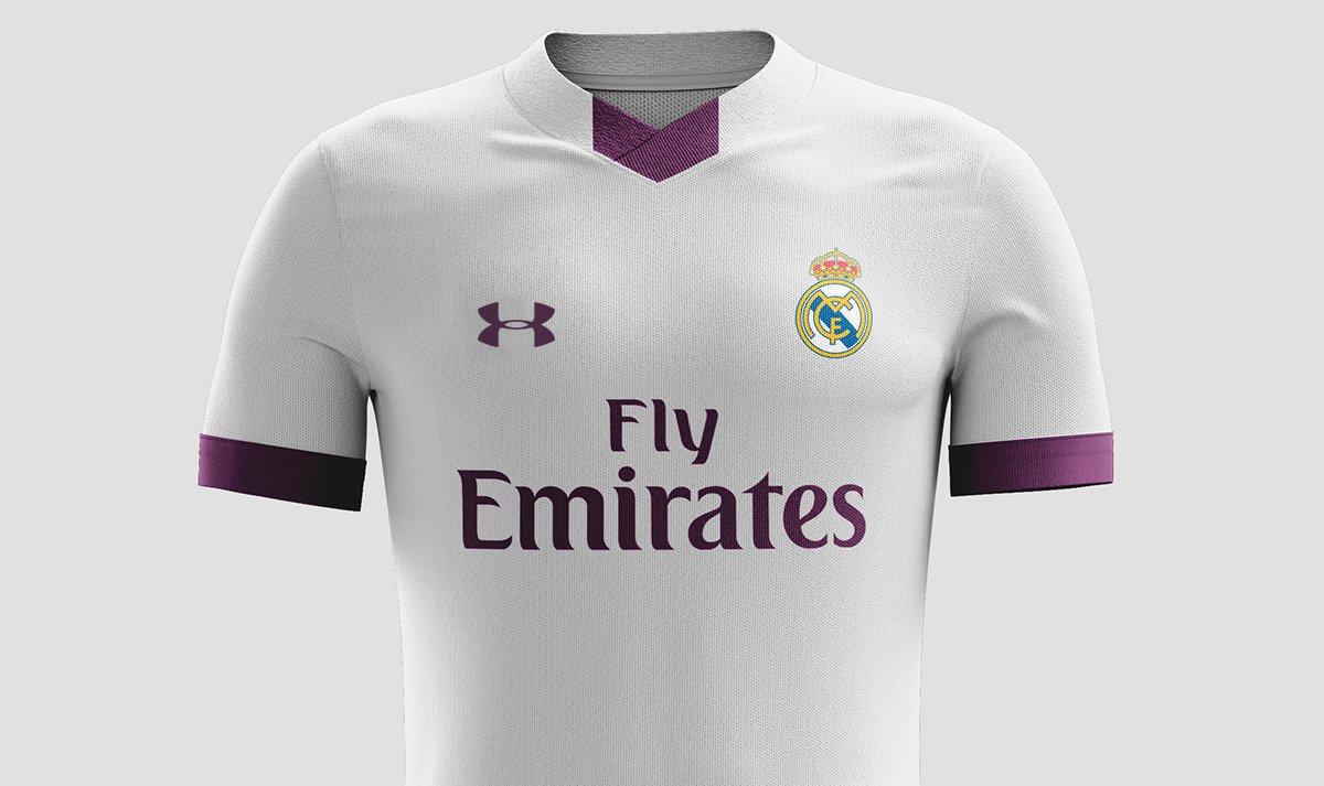 seco delicadeza calcio  Under Armour ofrece un megacontrato por la camiseta del Real Madrid