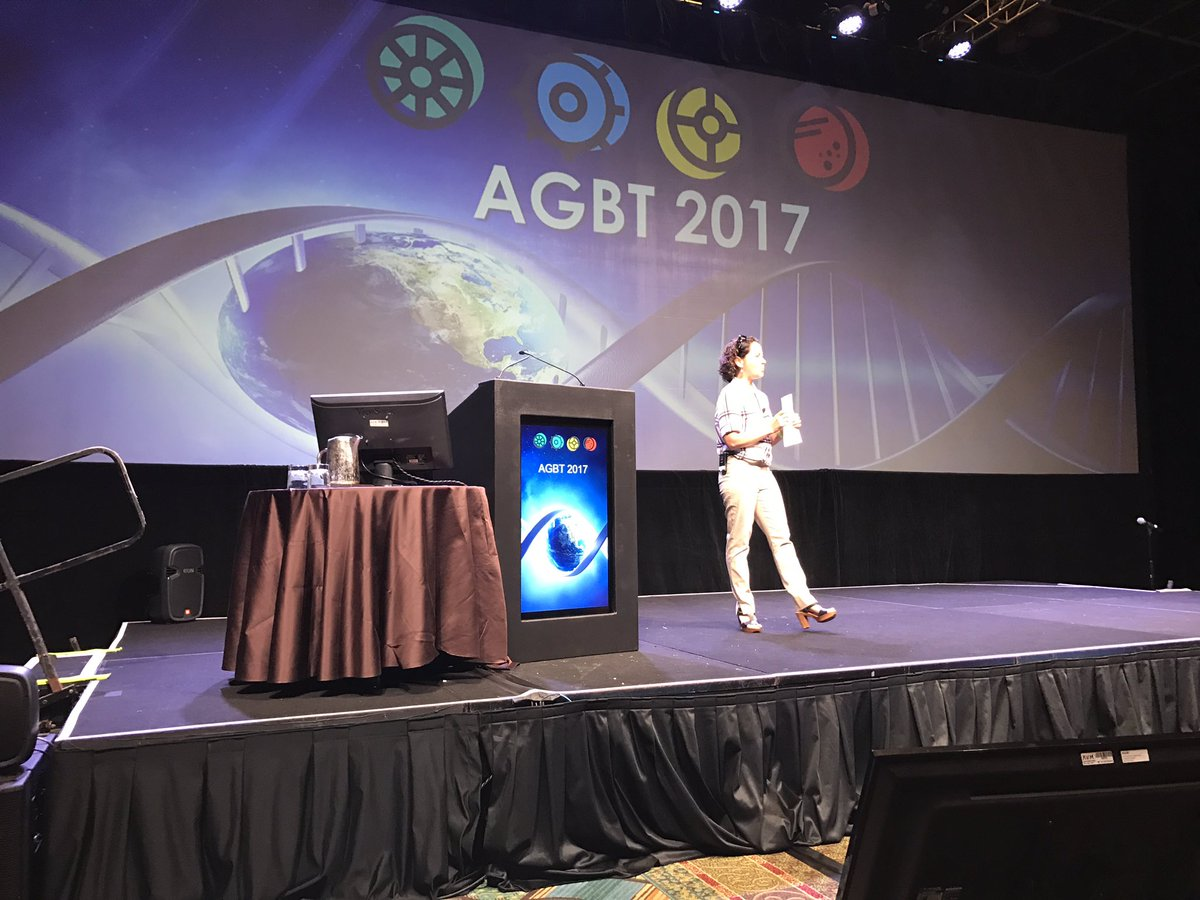 Beth Shapiro welcomes #agbt17 for genomics II https://t.co/EBbUIC7Euj