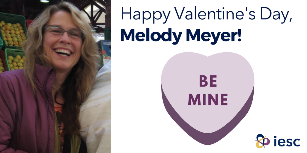 A #VolunteerValentine for @MeyerMelody, who has volunteered w/ IESC in Tunisia & the Dominican Republic! https://t.co/4QsL3dhb46 @PECIRD https://t.co/fdexepbqvo