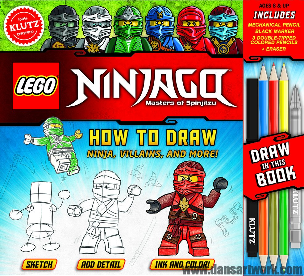This August, There Will Be A New Book By Lego Artist Dan Veesenmeyer Called  Lego Ninjago: How To Draw Ninja, Villains, And More! If You've Seen Dan's  Work