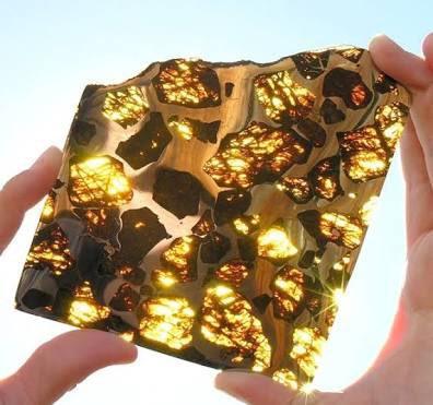 【金を上回る価値】中国新疆ウイグル地区で2000年に発見された隕石  パラサイト隕石と呼ばれるこの隕…