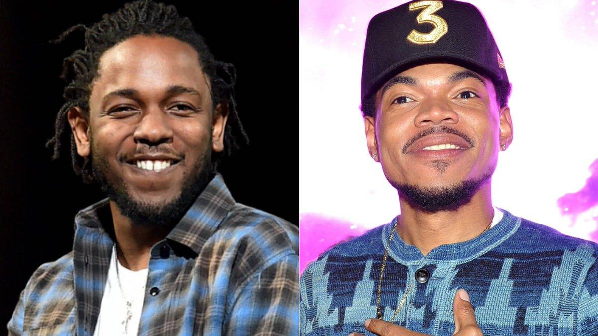 Resultado de imagen de Chance The Rapper y Kendrick Lamar