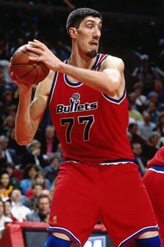 Happy birthday to the tallest player in NBA history, Gheorghe Muresan!