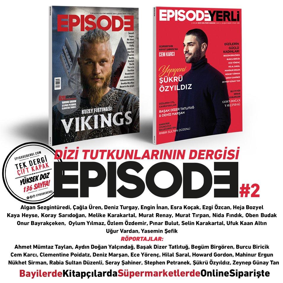 Dizi kültürü dergisi Episodeun üçüncü sayısı çıktı 81