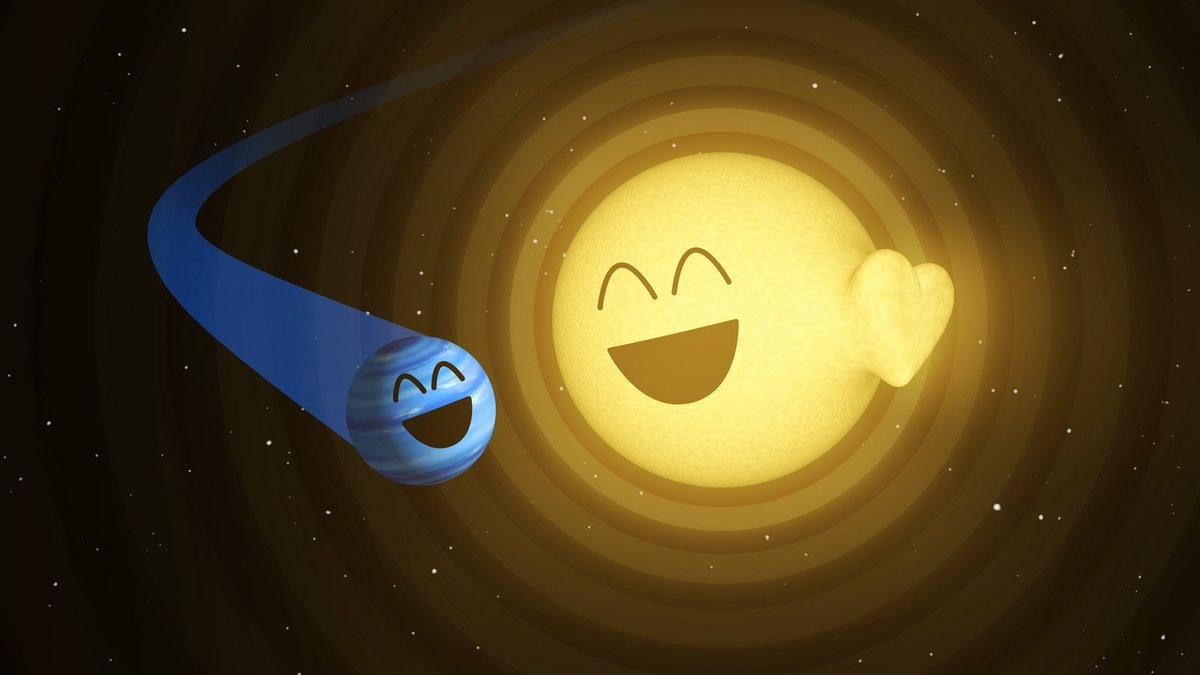Cosmic love story: Planet sparks heartbeat-like behavior in star #Valentines https://t.co/gjJQoqd05m https://t.co/FgijXV2ILv