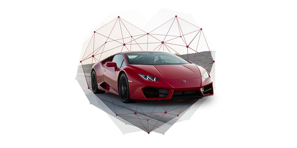 Almost nothing makes the heart beat stronger than love. Happy #Valentines Day from Automobili #Lamborghini