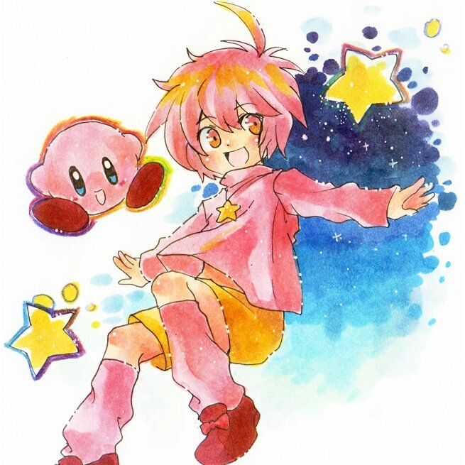 Create A Kirby Character Noll: Kirby (Human Male) (@LewdStarWarrior)