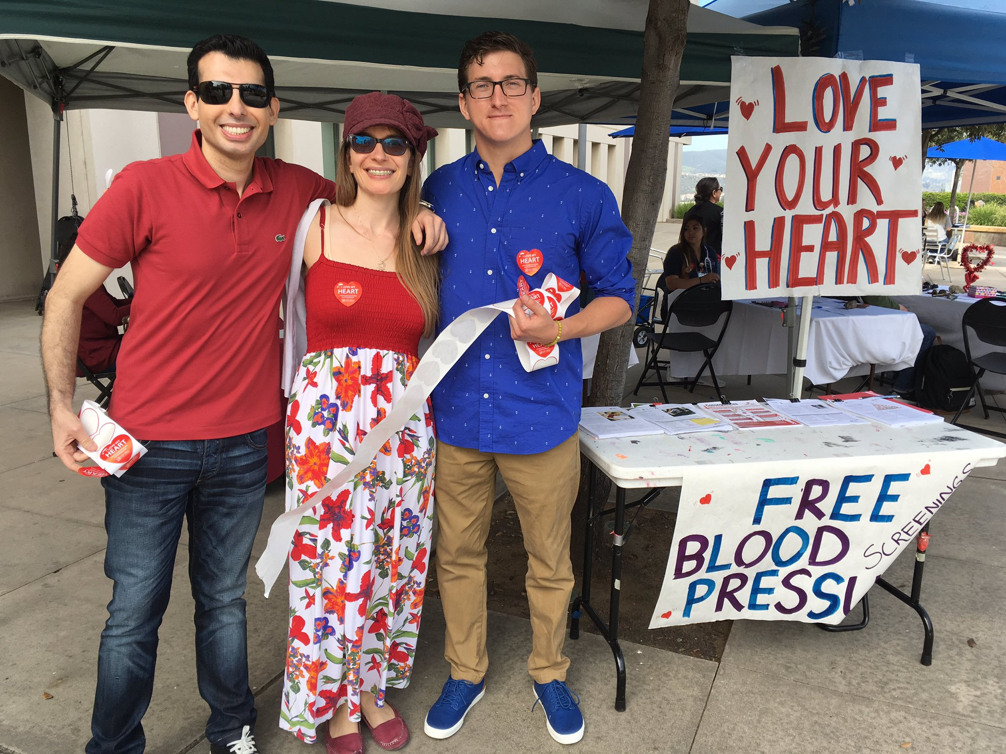 Thx to the students at CSUSM supporting healthy hearts with free BP screenings today! #LoveYourHeart @csusmnews https://t.co/dtG57QywwI