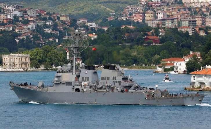 Incidents entre des chasseurs russes et un navire américain en mer Noire #polusa #Russia  http:// bit.ly/2lMZGoD  &nbsp;  <br>http://pic.twitter.com/osMUESBKSy