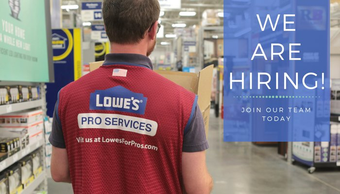 Lowe 39 S Careers On Twitter Attention Tx We 39 Re Hiring