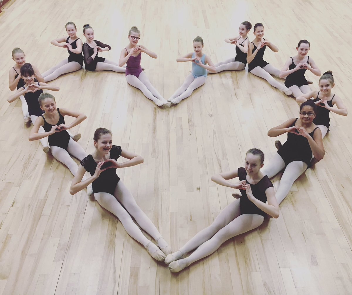 """RS Dance on Twitter: """"All you need is love ❤ #ValentinesDay #ballet #dance https://t.co/ncVi0o8Sbo"""""""