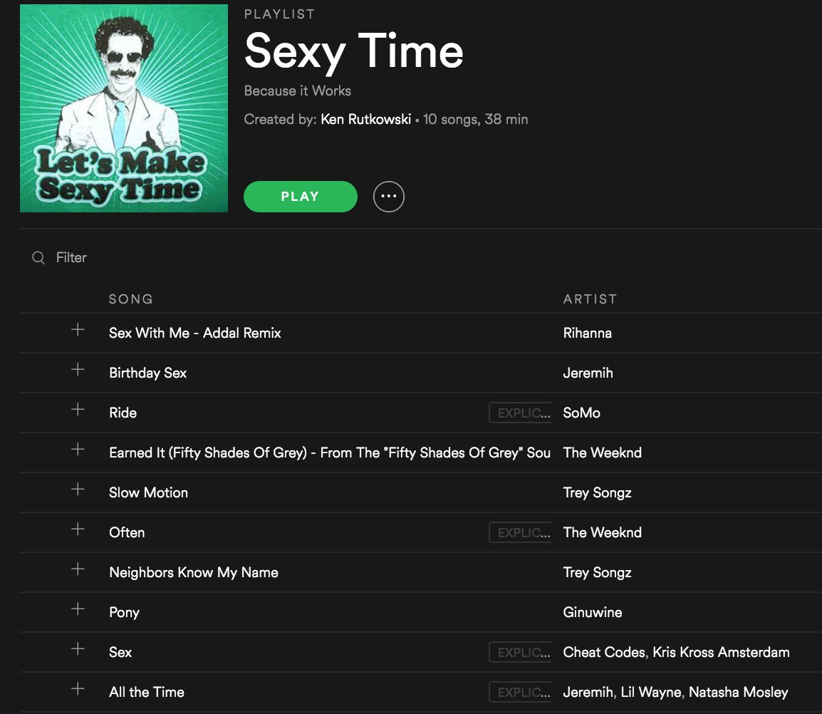 The best songs to have sex to