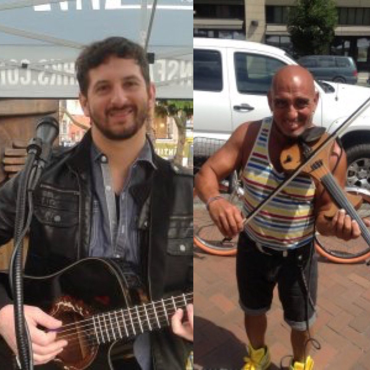 #live music 11:30-1:30 #electricviolin at #westlakepark by Pasquale Santos, #guitarist @juddwasserman at #occidentalpark By @downtownseattle<br>http://pic.twitter.com/9CHnrx83sy