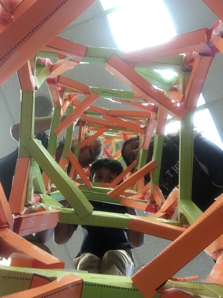 Looking down from the top of the structure #myflinthill https://t.co/wASdcBt2cC