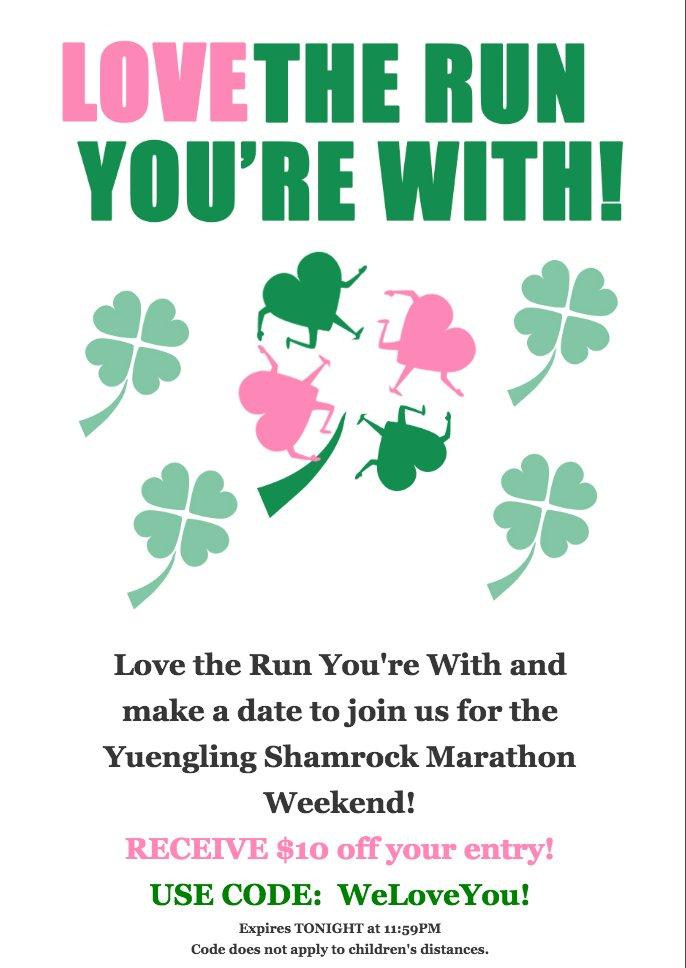 Shamrock Marathon on Twitter:
