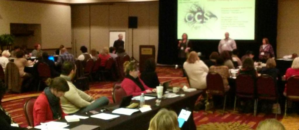 Chris Geith, CEO eXtension welcomes 150 #DIcorps17 to diversity and inclusion strategy sessions in Cincy. Doing! https://t.co/Qo5bP0V3yM