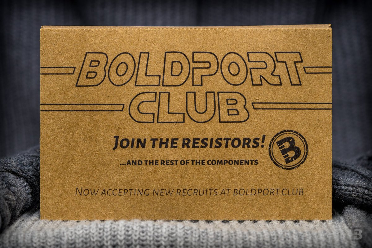 Are you a curious person? Interested in electronics? Join the resistors!