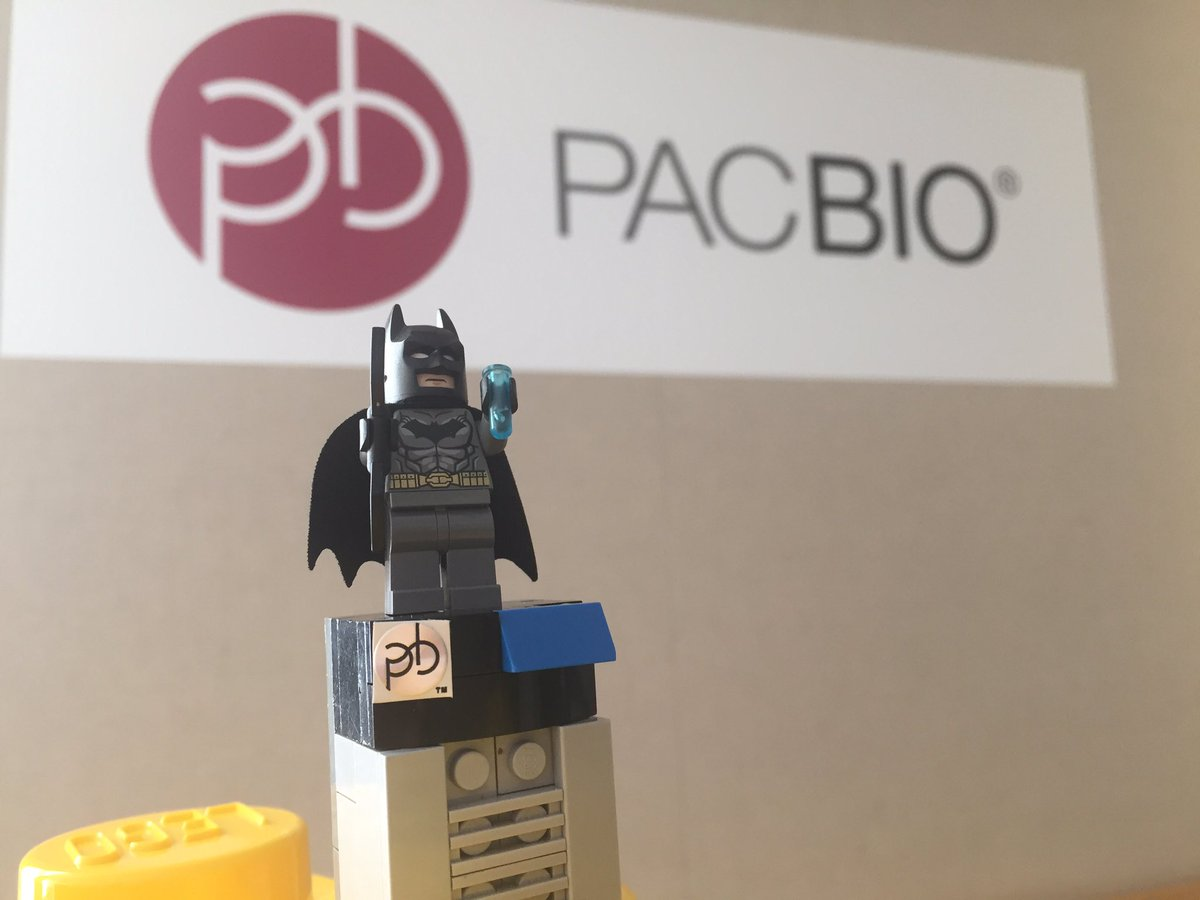 Got SMRT Sequencing in your #AGBT17 poster? Stop by suite #317 or flag us down to get your batman LEGO minifigure https://t.co/1zCulwtXBP