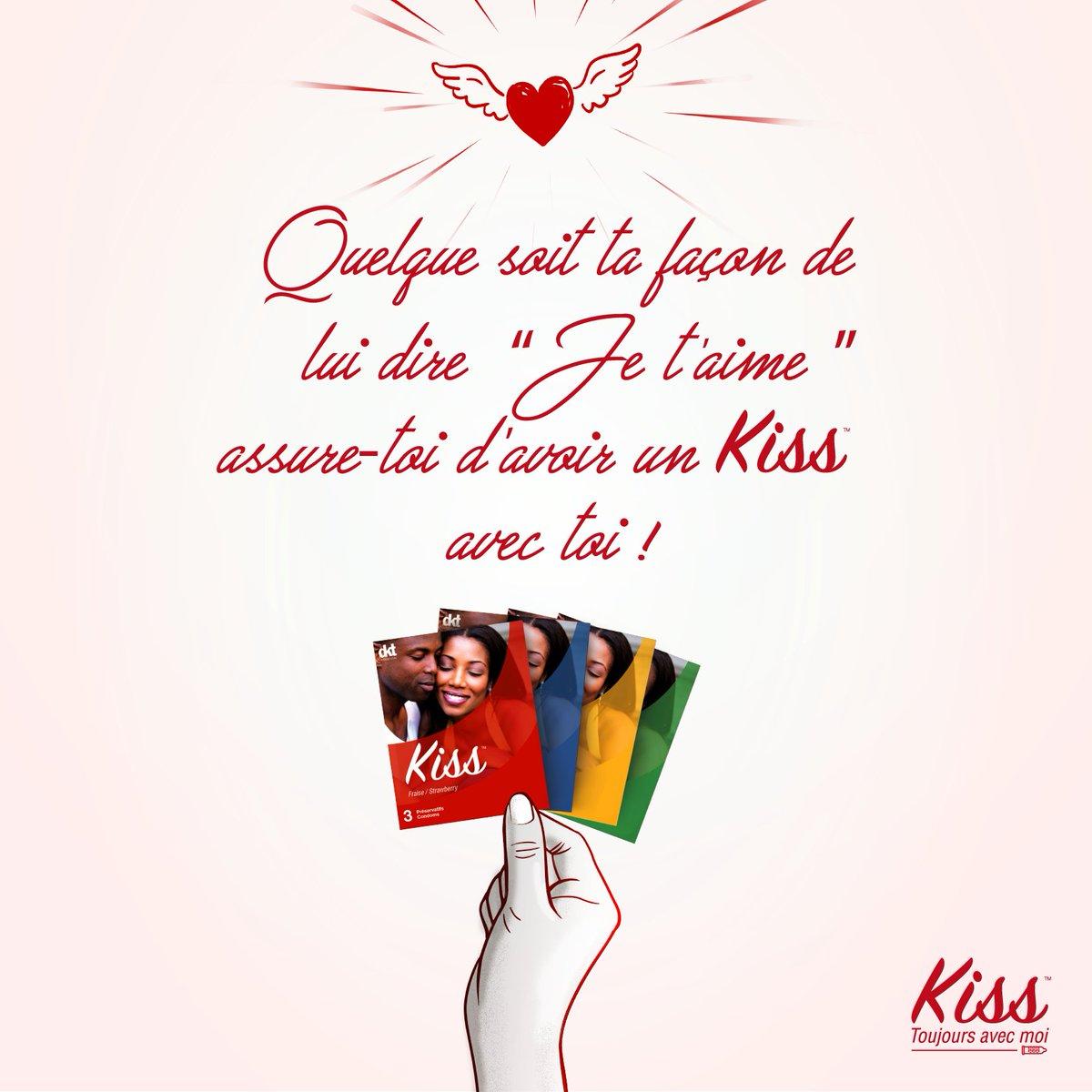 Le plus important lorsqu'on aime c'est de se protéger !  Bonne #SaintValentin  les amis, gardez toujours #Kiss prêt de vous ! #AdopteKiss<br>http://pic.twitter.com/3oB3vBGhzh