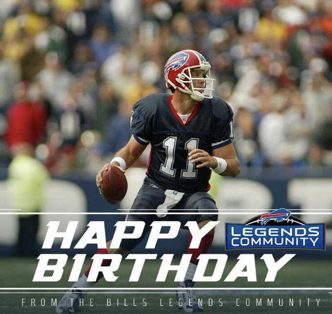 Wishing former Bills QB Drew Bledsoe a very Happy Birthday today!