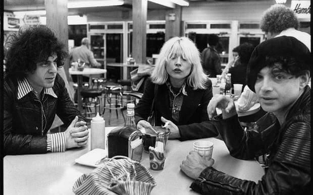 Blondie- Suicide #newyorkcity Marty, Alain, Debbie <br>http://pic.twitter.com/S2104WqQKV