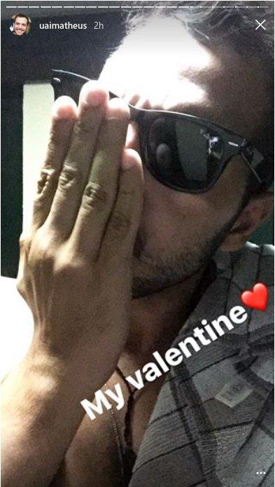#FOTO Matheus e seu Valentine&#39;s Day. Via: snapgram  http:// instagram.com/uaimatheus  &nbsp;  <br>http://pic.twitter.com/k1vPptC57y