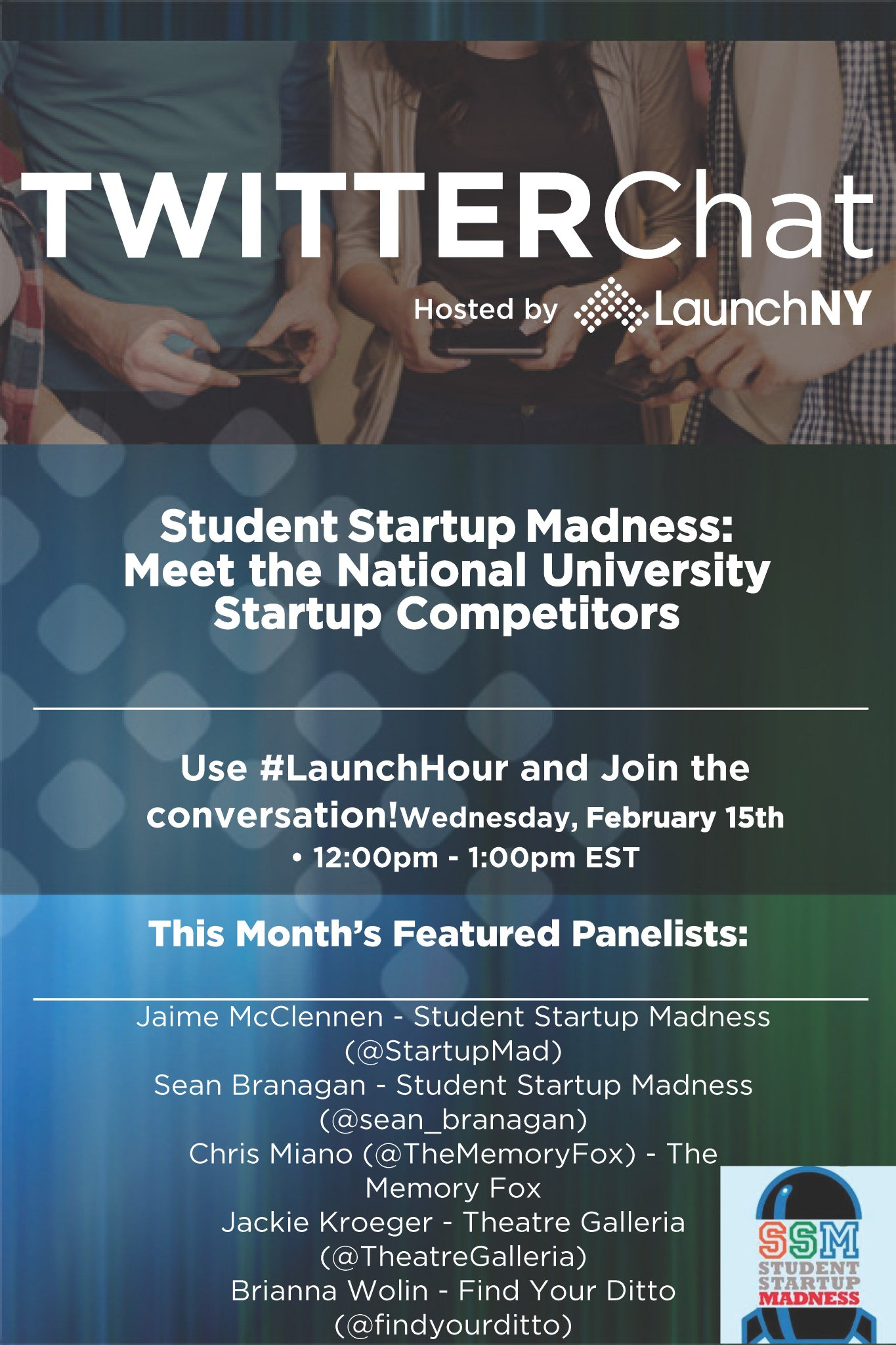 Don't forget tomorrow is #LaunchHour! https://t.co/5Oyn2brYaB