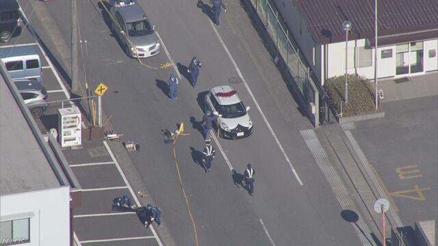 【茨城・神栖 発砲2人死傷 公園で死亡の男は逃げた従業員か】 けさ神栖市の会社事務所で従業員が拳銃で…