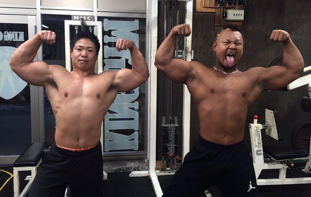 獣 筋肉 筋肉獣【L.O.B.代表】榛木勘介 ボディビルダーのトレーニングが凄い。