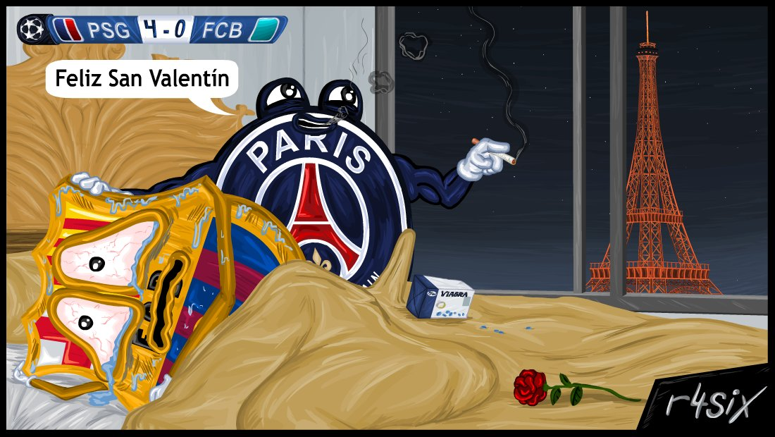 Paris Saint Germain v FC Barcelona. 1/8 Champions, ida. - Página 3 C4qS5RjW8AEHpel