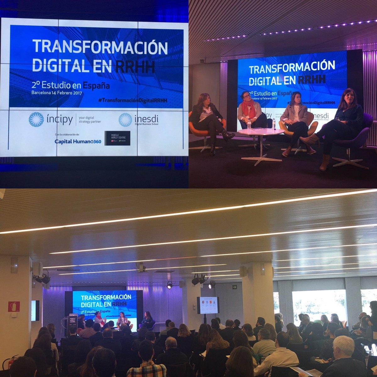 Gloria Ausió @ricohspain Maria Castellanos @AmplifonES y Maria Alsina #Inditex  Compartiendo proyectos de #transformaciondigitalRRHH<br>http://pic.twitter.com/nPxSOOXteK