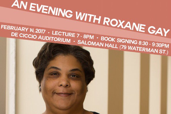 Livetweeting #RoxaneGayAtBrown tonight! https://t.co/rC1PR2RrcL