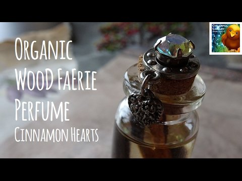DIY 💘 Organic & Edible Wood Faerie Perfume Oil