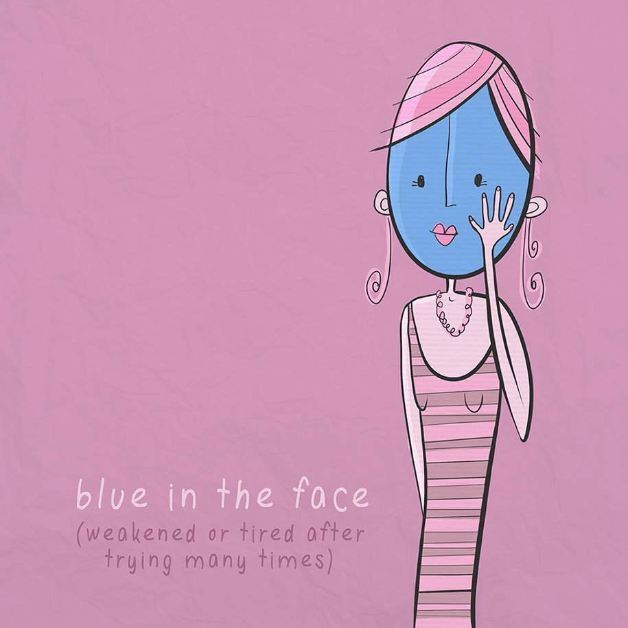 Practice English until you are blue in the face! #englishidioms #learnenglish #englishlesson #englishlessononline<br>http://pic.twitter.com/p4MqeJUxuf